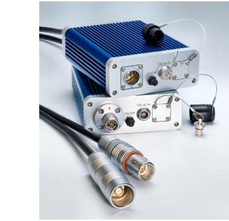 Lemo Active Products MEERKAT ™ Triax to fibre media converter